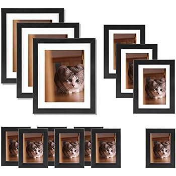 large multi picture photo frame frames wall set 13 pieces black kitchen home. Black Bedroom Furniture Sets. Home Design Ideas