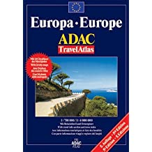 ADAC TravelAtlas Europa: 1:750000