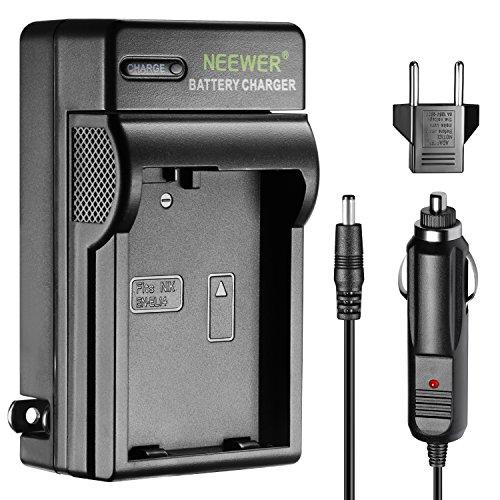 Neewer Caricabatterie Indicatore LED per Nikon EN-EL14 US&UE Adattatore Auto Adatto Reflex Digitali Nikon D3200 D3100 D5200 D5100 D5300 Camere Digitali Coolpix P7800 P7000 P7100 Grip MB-D31 MB-D51