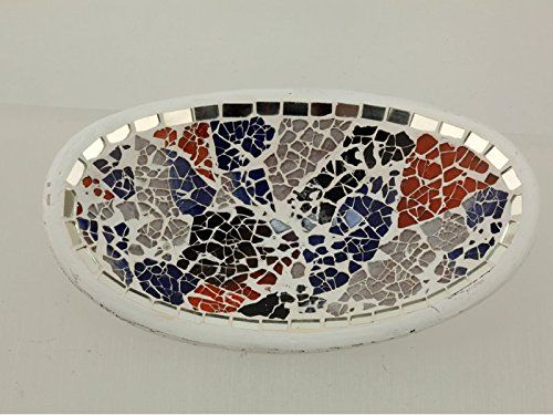 Centre de table vide poche ceramique cristal