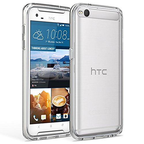 iprotect HTC One X9 Hülle Clear Crystal Soft Case TPU Schutzhülle 0,3mm Transparent