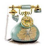 XM Xiao Mi Guo Ji Phone - Téléphone Fixe européen de la Famille Garden, Mode Creative Vintage Antique Phone (25X27CM) &&