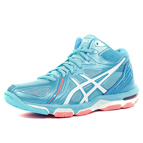 Scarpe volley donna, modello Asics Gel Volley Elite 3 MT, art. B551N 3901, colore celeste.