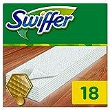 Swiffer - Recharges Lingettes Sèches pour Balai Attrape-Poussière pour Parquet - 6x18 (108 lingettes)