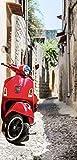 i.stHOME Textilposter Urlaub Italien Motiv Motorroller Deko