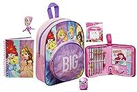 Disney Princess Junior School Bag Backpack Pencil Case Toy Bundle for Children/Toddler/Kids �?? 6 Piece