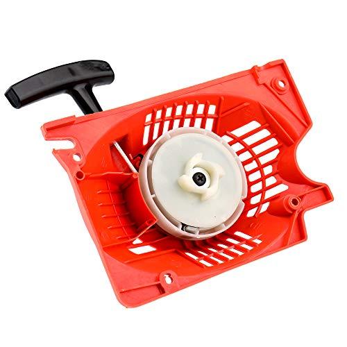 KKmoon Tirador de arranque estable del arrancador de la motosierra de la operación fácil de la alta precisión cabido para las sierras eléctricas de 45CC 52CC 58CC