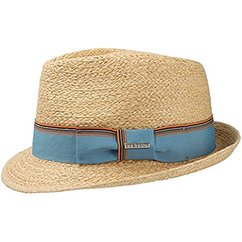 Sidney Cappello di Paglia Rafia Stetson cappello