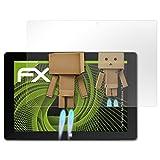 atFolix Displayschutz für Trekstor SurfTab Wintron 10.1 (Volks-Tablet) Spiegelfolie - FX-Mirror Folie mit Spiegeleffekt
