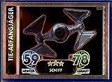 Force Attax Star Wars Erwachen der Macht Einzelkarte TIE-ABFANGJÄGER deutsch 181 Spiegelfolienkarte
