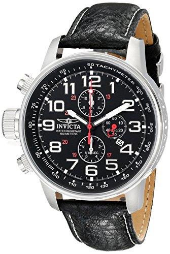 51QA9kXpqBL - Invicta Mens Leather 2770 watch
