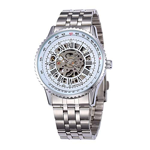 HWCOO Orologi meccanici Shenhua / 9500A hollow quadrante grande orologio meccanico automatico (Color : 3)