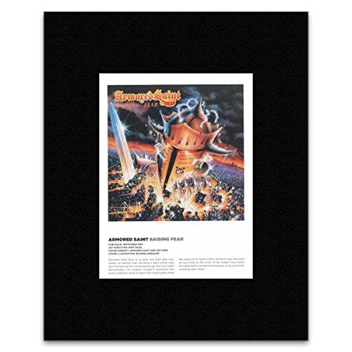 ARMORED SAINT - Raising Fear Matted Mini Poster - 29x21cm