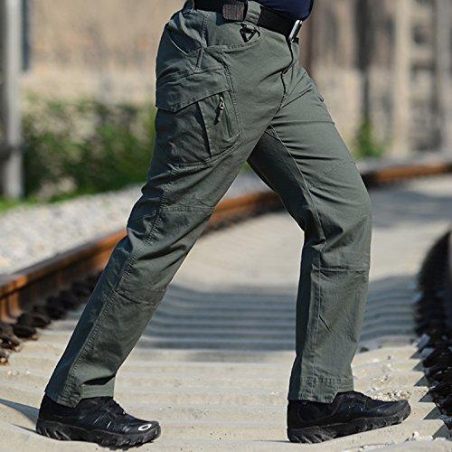 e0b26ed9afaf BELLOO Herren Outdoor Tactical Hose Baumwolle Cargo Hose Trousers mit Vielen  Taschen für Jagd Wandern Camping ...