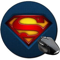 Superman Alfombrilla Redonda Round Mousepad PC