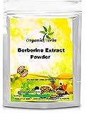 ORGANIC Herbs Berberine HCL 98% Powder Ext Pure & High Quality 100gm