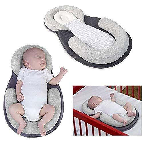 QYWSJ Baby-Nest, Kissen, 0-8 Monate, Tragbares Weiches Atmungsaktives Baby-Kuschel-Nest,...