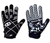 Seibertron Pro 3.0 12 Konstellation Elite Ultra-Stick Sports Receiver/Empfänger Handschuhe American Football Gloves Jugend Und Kinder Black S