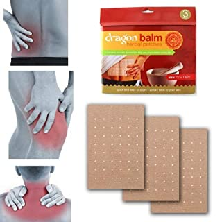 3 Pack Dragon Balm Patches Aromatic Herbal Remedy