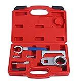 FreeTec 7tlg. Motor Einstell Werkzeug Set Zahnriemen Wechsel Nockenwellen Arretierung für VW T4 Crafter LT Transporter 2.5 TDI 2.4D