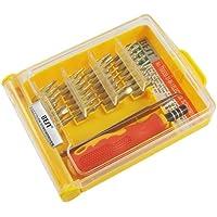 SODIAL (R) 31PC strumento di riparazione per i telefoni cellulari, gli alloggiamenti di PDA, PSP, NDS, lettore MP3, xbox, xbox 360 set di utensili comprende punta cacciavite e 30