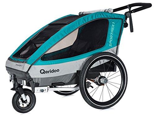 Qeridoo Sportrex1 Fahrradanhänger Test