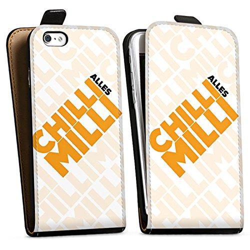 Apple iPhone X Silikon Hülle Case Schutzhülle LPmitKev Fanartikel Merchandise Alles Chilli Milli Weiss Downflip Tasche schwarz