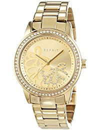 Esprit Damen-Armbanduhr Kylie Analog Quarz Edelstahl beschichtet ES108122005