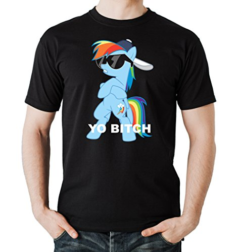 Certified Freak Yo Bitch Pony T-Shirt Black M Serie Dash
