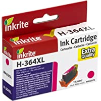 Inkrite NG Ink Cartridges (HP 364XL) for HP Photosmart B109 B110 C5380 D5460- CB324EE Hi-Cap Magenta