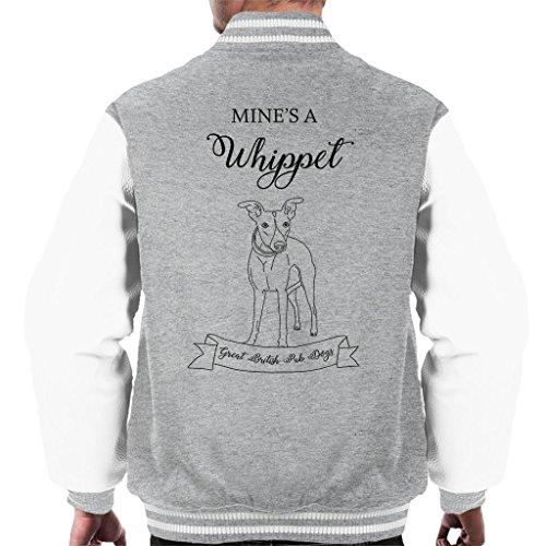 Great British Pub Dogs Mines A Whippet Men's Varsity Jacket