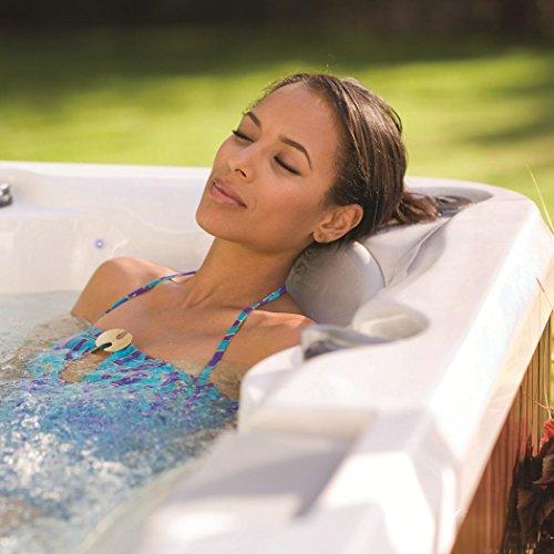 ORIGINAL Jacuzzi ® Spa J235 beheizter Whirlpool inkl. Wärmeabdeckung Aktionsmodell mit 6 Sitzen, einem Wasserfall, LED-Kontrollanzeige und umlaufender Beleuchtung sowie 3 Kopfstützen und Filtersystem - 5