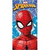 Telo Mare Spiderman Asciugamano da spiaggia in microfibra CM. 140X70 asciugatura rapida, ultra morbido (Spiderman 2)