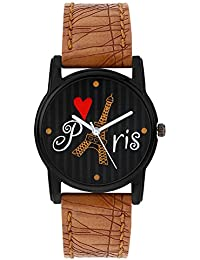 Relish Analog Eiffel Tower Black Dial Watches for Girls & Women RE-L068TT