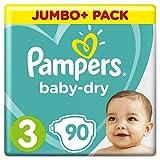 Pampers Baby Dry Gr.3 Midi 5-9kg Jumbo Plus Pack