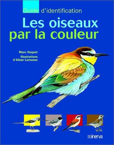 Les oiseaux par la couleur