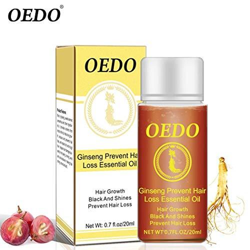 Oplon Ginseng Cheveux Croissance Anti-off Prévenir La Perte De Cheveux Huile...