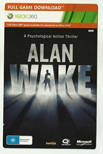 Alan Wake [Xbox One Karte mit Download Code] - volle Spielversion Download von Xbox Store