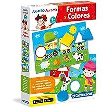 Clementoni - Las formas y los colores, juego educativo (65592.2)
