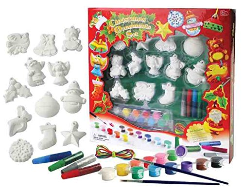 A B Gee A. B. Gee 970 DIY255 ``Paint Your Own Christmas Decorations`` Craft