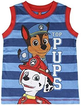 Camiseta Patrulla Canina Top Pups Tirantes (5)