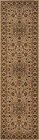 Momeni Rugs ROYALRY-03IVY237A Royal Collection, 1 Million Point Power Loomed