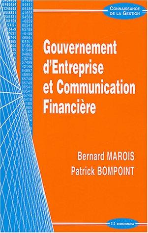 Gouvernement d'entreprise et Communication financière