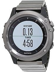 Garmin Garmin Fenix 3 GPS - Cardiofréquencemètre - Kit Performer Saphirglas gris/noir 2017 cardio velo