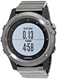 Garmin fenix ® 3 Saphir Performer Bundle inklusive Premium Herzfrequenz-Brustgurt Run