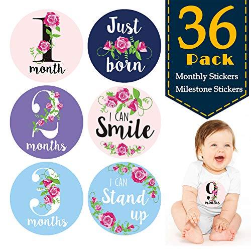 36 Pegatinas para el recién nacido