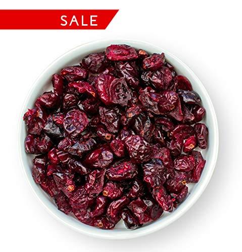 1001 Frucht - Sonnengetrocknete Cranberry - Preiselbeeren - Ungezuckert - Ungeschwefelt - ohne Zusatzstoffe - mit Ananasdicksaft veredelt und für Diabetiker geeignet