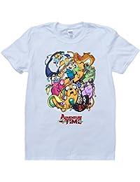 Amazon hora de aventuras ropa aventuras hora historieta blanco por encargo t shirt thecheapjerseys Images