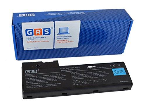 GRS Batterie d'Ordinateur Portable Toshiba Satellite Pro P100, P100 P105, fç ¬ R rempLace : PA3479U-1BRS-PA3817U-1BAS, PA3817U-1BRS, PA3480U, PA3480U de, PABAS078, PABAS079, ordinateur portable Batterie 4400 mAh 10,8 V