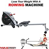 Best Rowing Machines - MAXSTRENGTH Magnetic Folding Rowing Machine Home Gym Rower Review